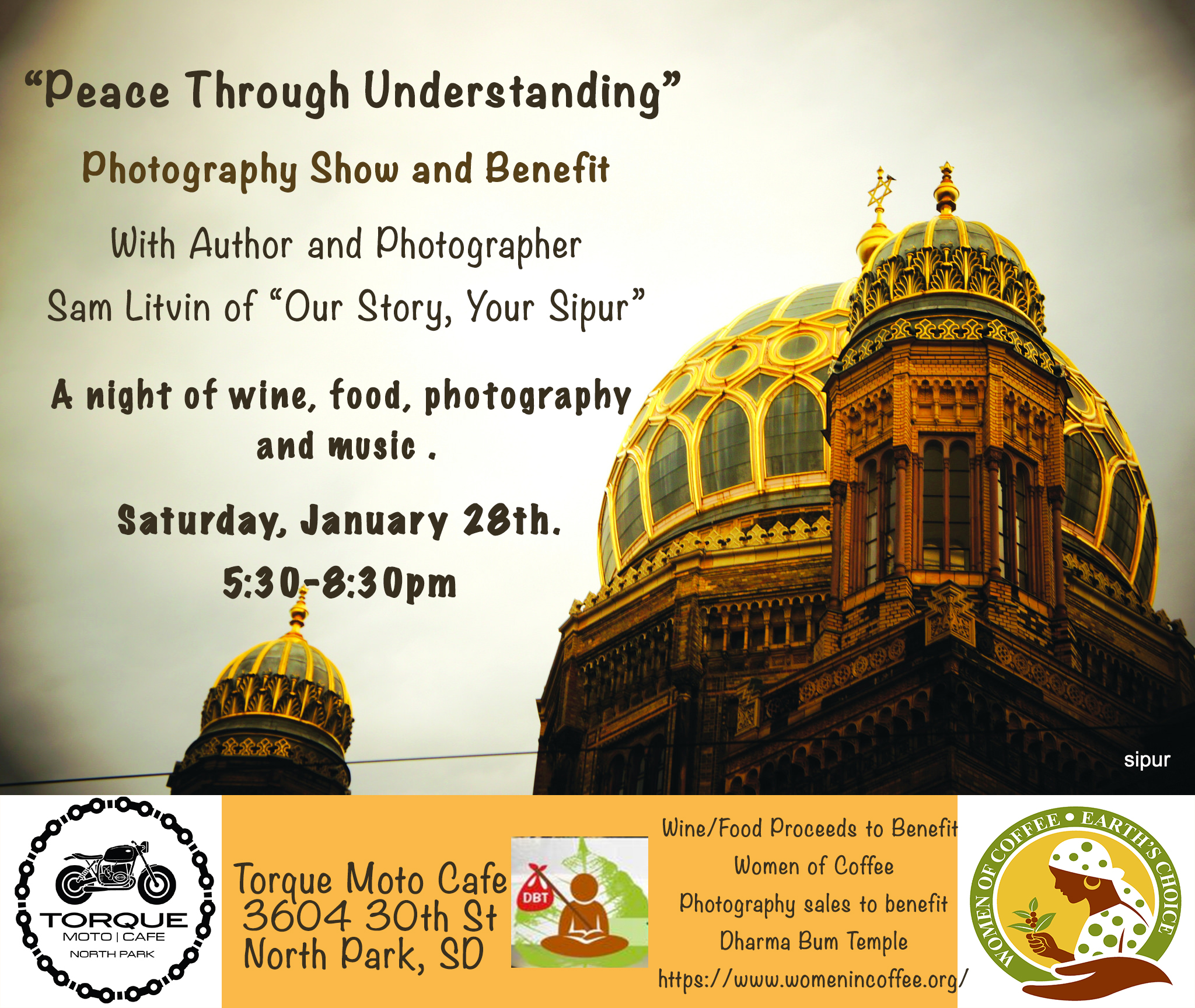 Peace Through Understanding photography show